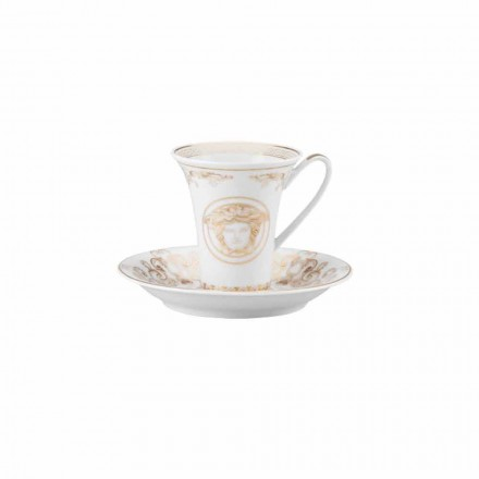 Kupa e dizajnit të porcelanit nga Rosenthal Versace Medusa Gala