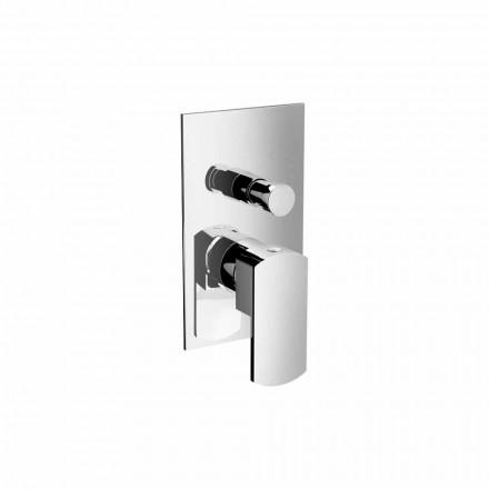 Trokitje e lehtë e mikserit të dushit ose banjës me devijues i prodhuar në Itali - Sika