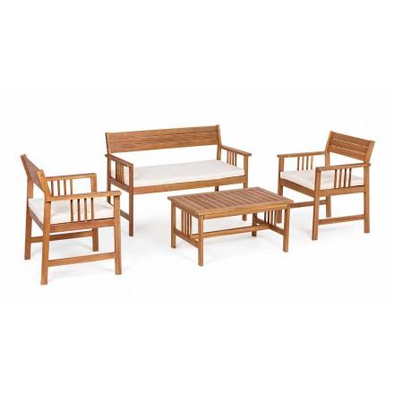 Lounge 4 Shtojcat në Dizajnin e Drurit të Kopshtit në Acacia Wood- Roxen