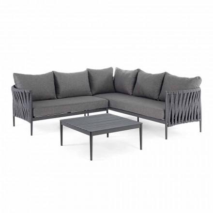 Këndi Lounge Design Kopshti, Homemotion - Jastëkë të Lëvizshëm Lucio