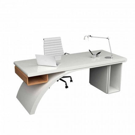 Tavolinë moderne e zyrës e bërë nga druri dhe Ura e Sipërme e ngurtë