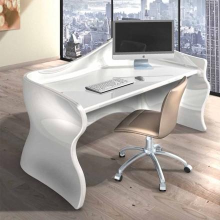 Tavolinë zyre moderne e bërë nga Solid Surface Velo, dizajn italian