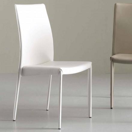 Karrige moderne e mbuluar plotësisht në lëkurë faux - Eloisa