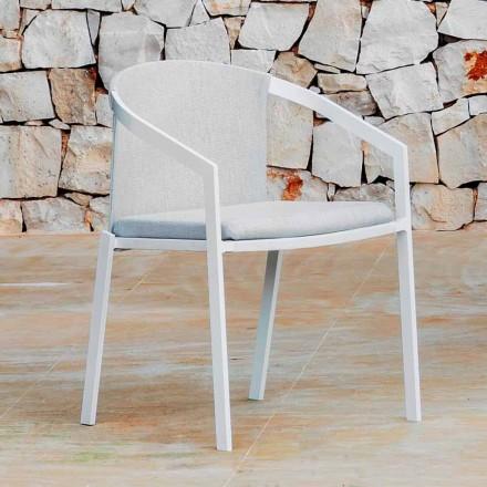 Karrige alumini në natyrë me ose pa jastëk, me cilësi të lartë, 4 copë - Filomena