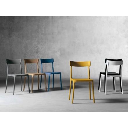 Dizajn karrige në natyrë / shtëpie në polipropileni të bërë në Itali, Peia