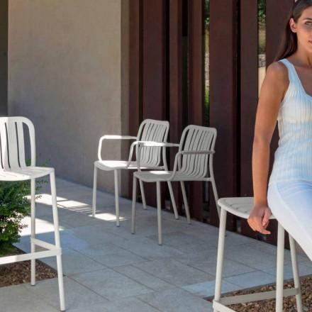 Karrige kopsht Trocadero me armatime nga Talenti, e bërë me alumin