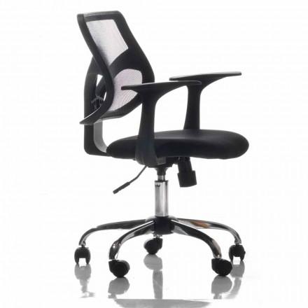 Karrige zyre me rrota rrotulluese, të zeza dhe inde - Giovanna