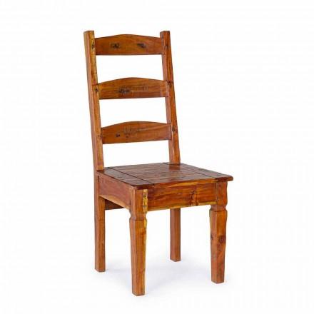 Karrige e Dizajnit Klasik në Homemotion Druri Akacie të Ngurta - Moritz