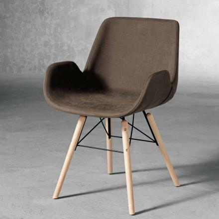 Karrige projektimi në dru dhe tekstile të bëra në Itali, Ranica
