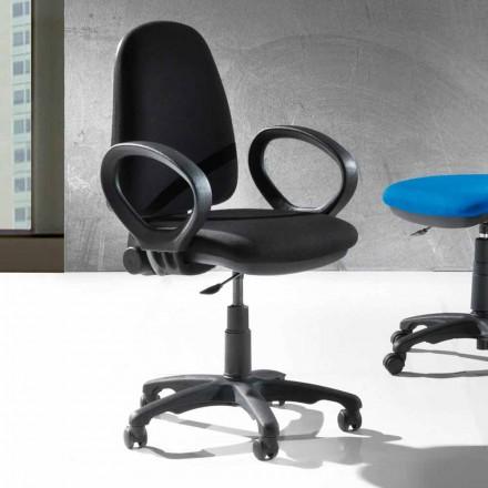 Karrige moderne ergonomike e rradhës Karrige në eko lëkurë ose inde - Calogera