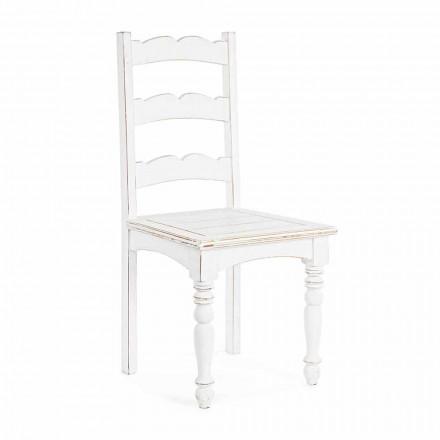 Karrige prej druri Mango të ngurta Dizajn Klasik Homemotion - Blanche