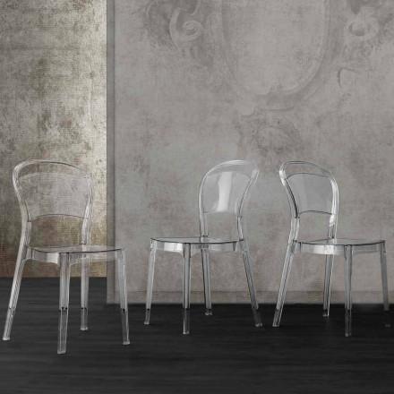 Karrige transparente polikarbonate me një dizajn modern Ferrara