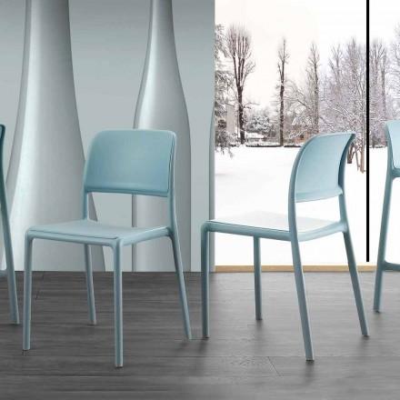 Karrige moderne e projektimit në rrëshirë dhe tekstil me fije qelqi, e bërë në Itali Holiday