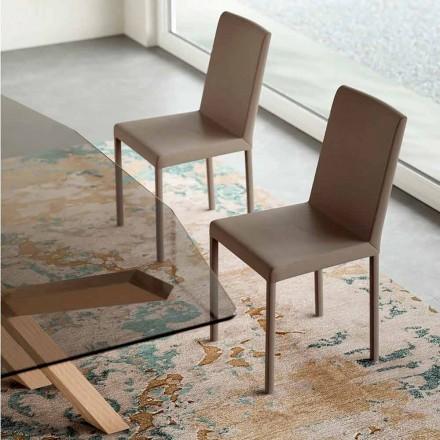 Dizajn karrige që jetojnë në eko-lëkurë të prodhuar në Itali, Soliera