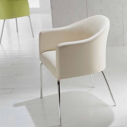 Karrige prej lëkure me dizajn modern, Costello
