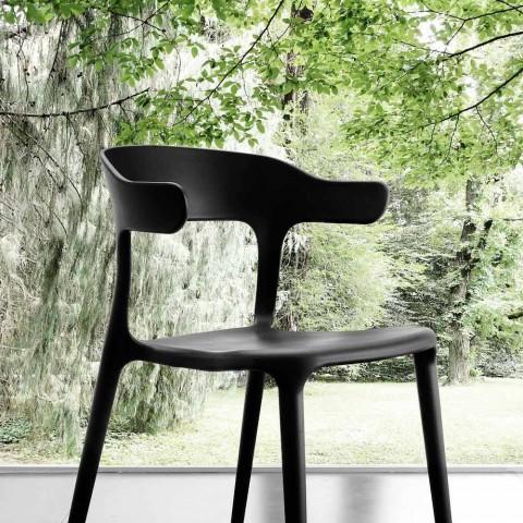 Darka dhe karrige kuzhine Mirto, e bërë nga polipropileni, dizajn modern