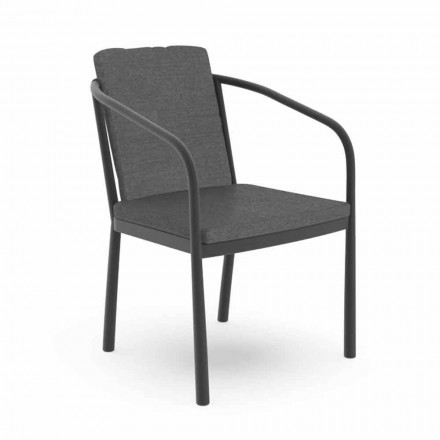 Karrige e jashtme me mbështetëse alumini dhe pëlhura - Sofy nga Talenti