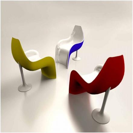 Dizajn bashkëkohor Kolltuk sipërfaqësor i ngurtë Helled, i bërë në Itali