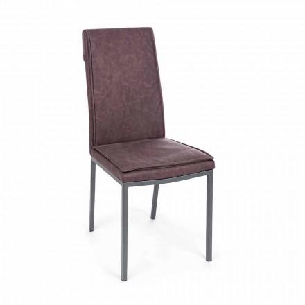 Karrige e veshur me lëkure Efekti i cilësisë së mirë 4 Copë Homemotion - Irama