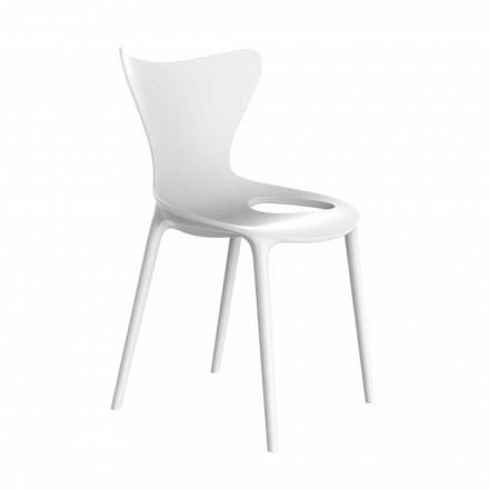 Karriget e Kopshtit me Stackable Design në Polipropilen 4 Copë - Dashuri nga Vondom