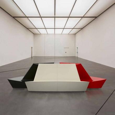 Dizajn modern divan C sipërfaqe të ngurtë C Lounge, i punuar me dorë në Itali