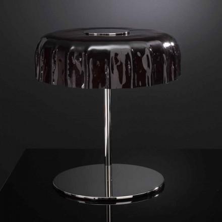 Llambë tryeze Selene Big Cap e bërë nga qelqi, e bërë në Itali, c 40 H 40cm