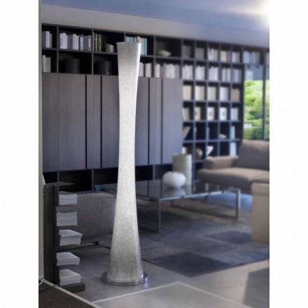Selene Clessidra llambë dyshemeje në dysheme me xhama H36 H175cm, dizajn modern