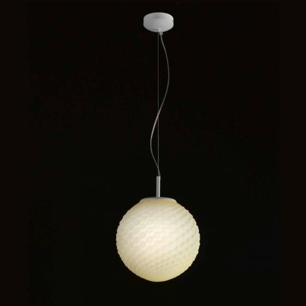 Dritë varëse e punuar me dorë Selene Domino H27 H 27 / 140cm, dizajn modern