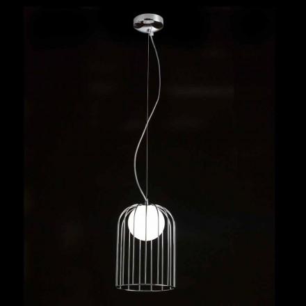 Llambë varëse Selene Kluvi e bërë nga qelqi në lulëzim, H19 H 27 / 150cm