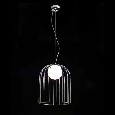 Llambë varëse Selene Kluvi e bërë nga qelqi i çelur, Ø33 H 41/150 cm