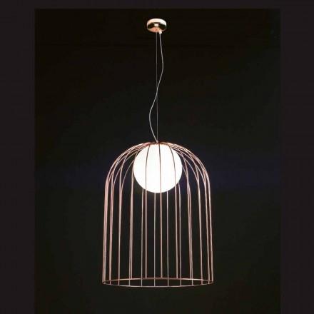 Llambë varëse Selene Kluvi e bërë nga qelqi i çelur, 454 H 70 / 200cm