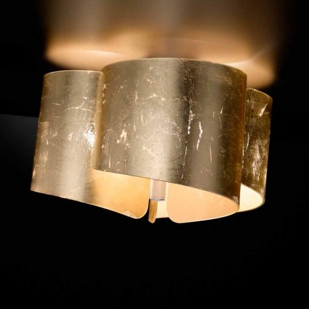 Selene Papiro llambë tavan moderne kristal, e bërë në Itali, Ø46 H28cm