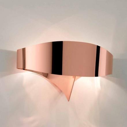 Dritë muri çeliku të galvanizuar Selene Scudo të bërë në Itali, dizajn modern