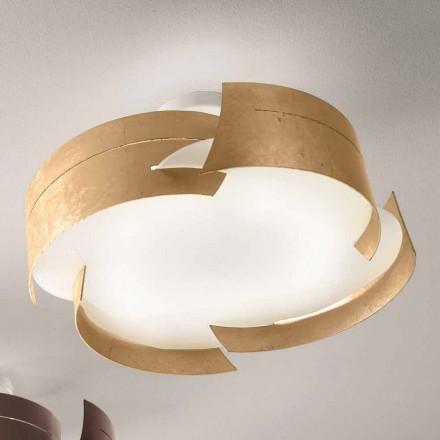 Dritë tavani Selene Vultur, Ø59,5 cm e bërë në Itali, dizajn modern