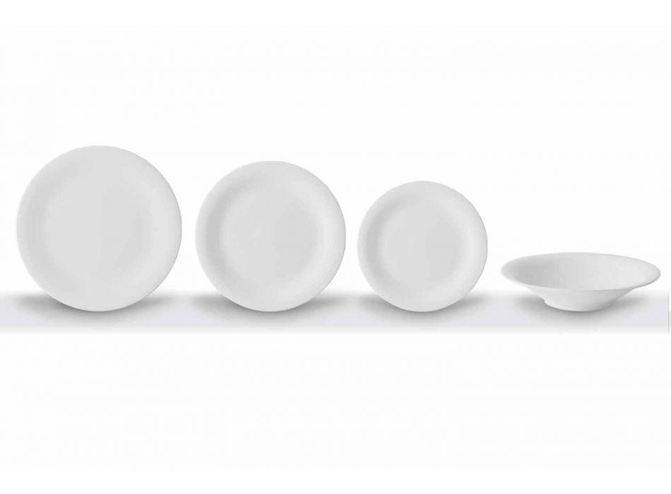 24 Pllaka Elegante Darke në Projektimin e Porcelanit të Bardhë - Doriana