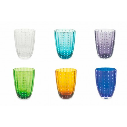 Seti i 12 gotave me dizajn modern me xham për ujë - Botsvana
