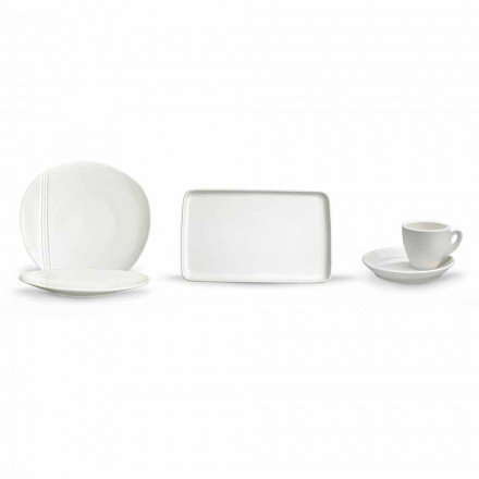Enët moderne prej porcelani Aperitif Set 36 copa - Nalah
