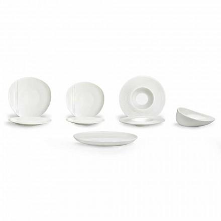 Sete për pjatë moderne prej porcelani 26 copë - Nalah