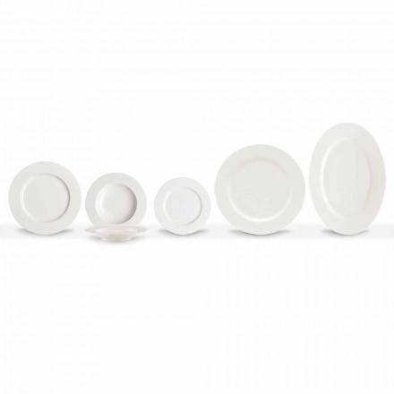 Pllaka për darkë prej porcelani elegante dhe moderne Vendosni 20 copë - Arendelle