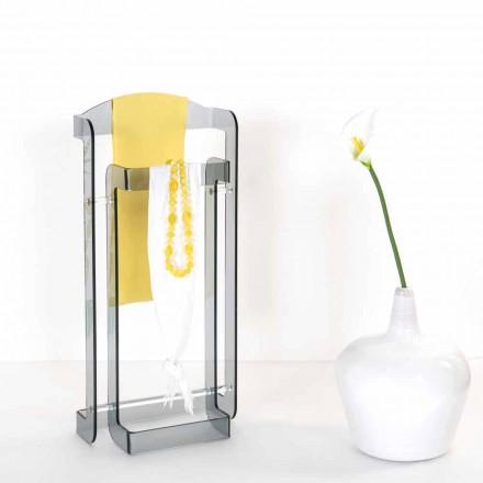 Raft pallto moderne me dizajn të bërë nga fumé plexiglass Mose, e bërë në Itali