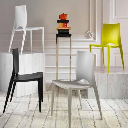 Seti i 4 karrigeve për ngrënie / kuzhinë Felicia, dizajn modern