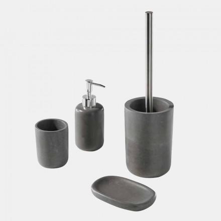 Aksesorë për banjë pa rrëshirë gri Set - Paketa