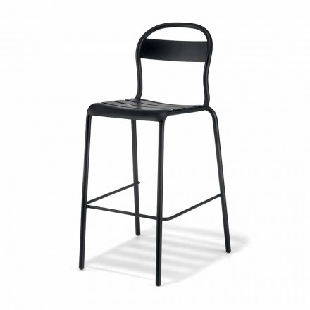 Stool i Lartë Stackable Outdoor Made në Itali, 2 copë - Trixie