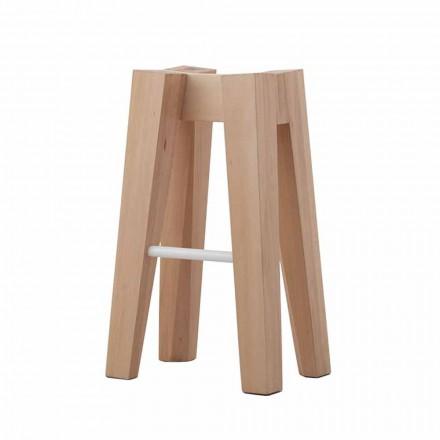 Stol i kuzhinës prej druri prej ahu të ngurtë me dizajn të lartë ose të ulët - Cirico