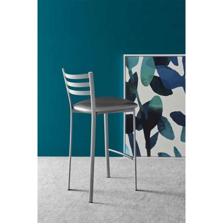 Kuzhina moderne metalike ose pëlhure ose stool bar i bërë në Itali - Ace