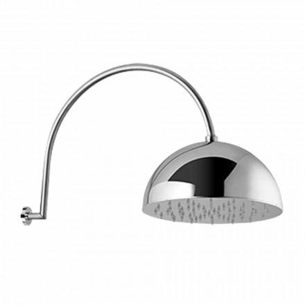 Koka e dushit prej çeliku me krah të harkuar prodhuar në Itali - Auro