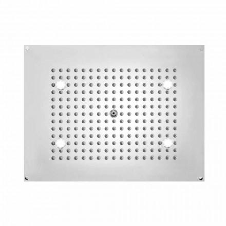 Kreu dush drejtkëndor Bossini Dream me dritat LED, dizajn modern