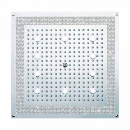 Kreu i dushit Bossini Dream, me drita LED dhe dekorime Swarovski