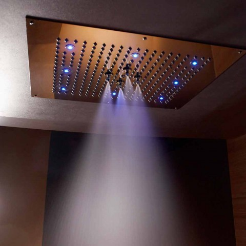Kulmi i tavanit të dushit me kromoterapi dhe dy avionë Dream Neb