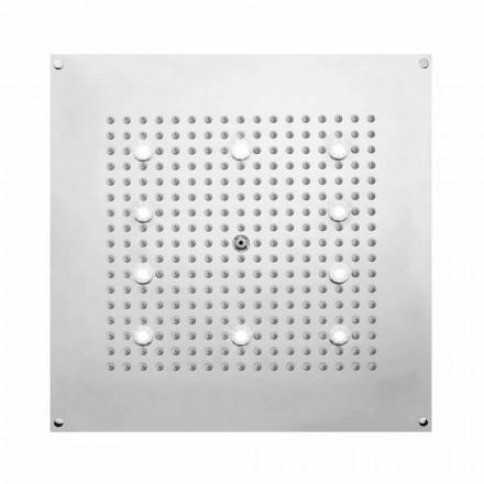 Koka dush e Sheshit Bossini Dream Neb w / jet shiu dhe dritat LED, dizajn modern